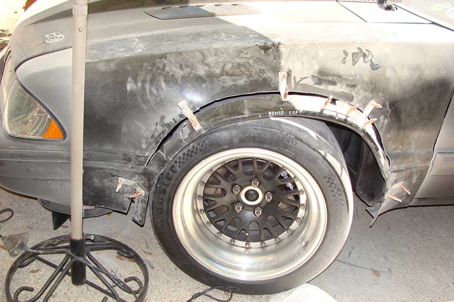 Mod Squad Garage Fox Body Mustang Fender Flares